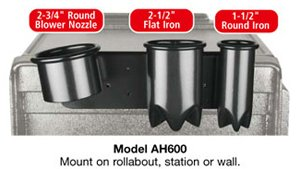 Kayline Appliance Holder * Holds: 1 Blower, 1 Flat Iron U0026 1