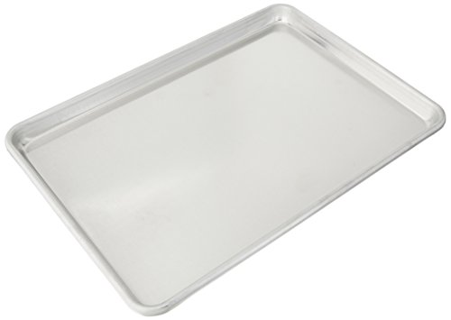 (Vollrath 5314 Wear-Ever Half-Size Sheet Pan, 18-Inch x 13-Inch, Open-Bead, Aluminum, NSF)