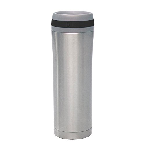 Chantal SL92-T BK Stainless Steel by Chantal Travel Mug, 15-Ounce by Chantal ()