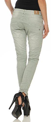 Pantalons Menthe Femmes Jeans Cl Copain pour 2760 Baggy LEXXURY Chino qYzaxUnnp