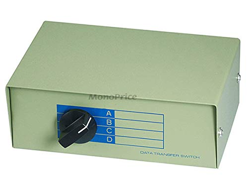 Monoprice 101376 BNC ABCD 4 Position Switch Box