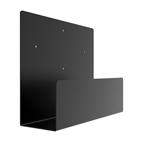 Oeveo Side Mount 142i - 10H x 4W x 12.5L | Computer Wall Mount for Lenovo ThinkCentre SFF, Dell OptiPlex SFF, and other Computers | SCM-142 (Mounts Wall Computer)
