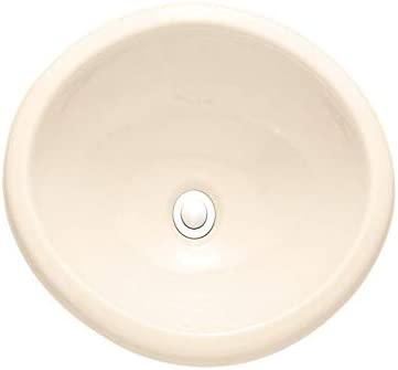 American Standard 0573.000.222 Sebring Countertop Sink without Faucet Deck, Linen