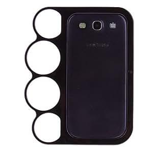conseguir Knuckle Volver Funda para el Samsung Galaxy S3 I9300 , Oro