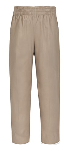 CLASSROOM Little Boys' Uniform Pull-On Pant, Khaki, 6 ()