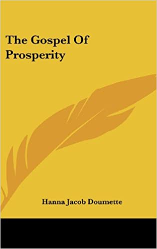 Book The Gospel of Prosperity