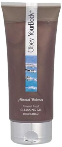 Obey Your Body Dead Sea Mineral Mud Cleansing Gel Facial Wash - ADSBeauty