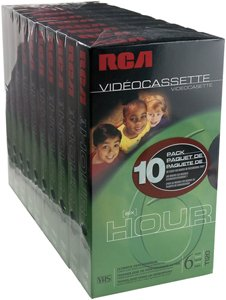 RCA Hi-Fi Stereo Videotape (10-Pack) (Discontinued by Manufacturer) from Thomson
