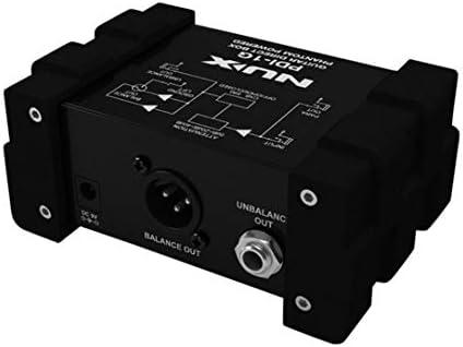 NUX PDI-1G 2DI - Caja de mezclas de audio para guitarra: Amazon.es: Instrumentos musicales
