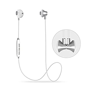 Dostyle Magnetic Wireless Earbuds Bluetooth Headphones HD Stereo Sweatproof In-ear Earphones Noise Cancelling Headset with mic for iPhone X 8 7 Plus Samsung Galaxy S7 S8 and Android Phones