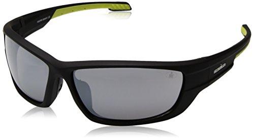 Ironman Men's Immersion Wrap Sunglasses, Black, 67 - Sunglasses Ironman