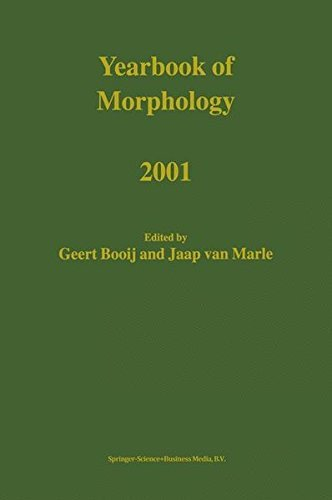Download Yearbook of Morphology 2001 Pdf