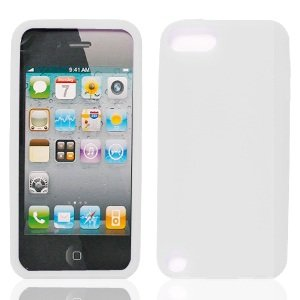 Bundle Accessory for Apple Ipod Touch 5 - Clear Silicon Skin Soft Case Protector Cover + Lf Stylus Pen + Lf Screen Wiper