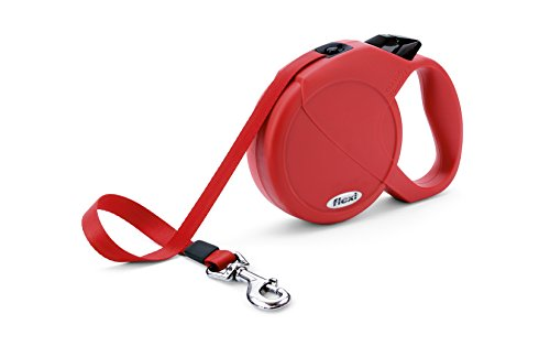 Flexi Durabelt Retractable Belt Dog Leash , Large, 16-Feet Long, Supports up to 150-Pound, Red by Flexi