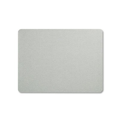 Oval Office Fabric Bulletin Board, 48 x 36, Gray, Sold as 1 Each