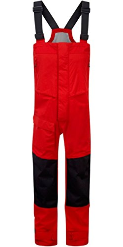 2016 Henri Lloyd Transocean Offshore Hi-Fit Trousers New Red Y10158 Sizes- - X Small