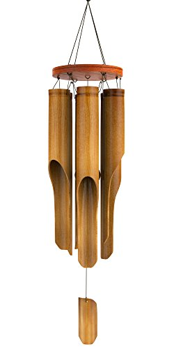 Nalulu Wind Chime - Bamboo Wooden Wood Large