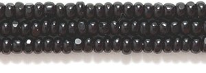 - Preciosa Ornela Czech Seed Bead, True Cut Opaque Black, Size 10/0