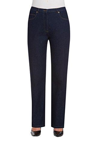 Alia Denim Jeans - Nygard Women's Petite Short Alia Stretch Denim Straight Leg Jean Dk Indigo