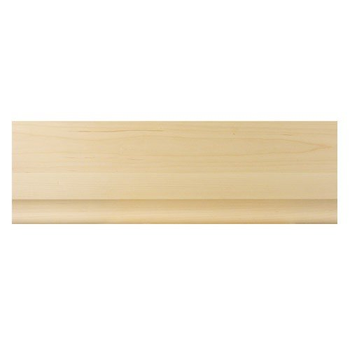 Brown Wood Inc. 01828410CH1 Full Simplicity Rustic Flat Wood Molding, Cherry