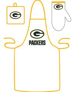 Apron Mcarthur - Green Bay Packers Grilling Apron Set