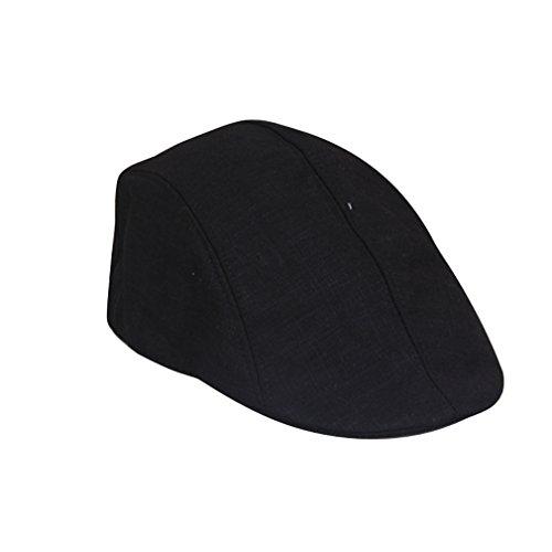 YueLian Sportivo per Gli Uomini di Cotone Cappello Basco (Bianco)   Amazon.it  Abbigliamento 322a3737cc01