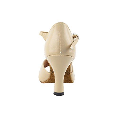 """50 Shades Of Tan Dance Kleid Schuhe Collection-II, Komfort Abendkleid Hochzeit Pumps: Ballroom Schuhe für Latin, Tango, Salsa, Swing, Kunst von Party Party (2,5 """", 3"""" & 3,5 """"Heels) 6029 Tan Leder"""