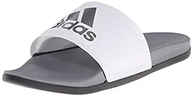 adidas Men's Adilette SC Plus SU M Sandals,White/Iron Metallic Grey/Vista Grey,7 M US