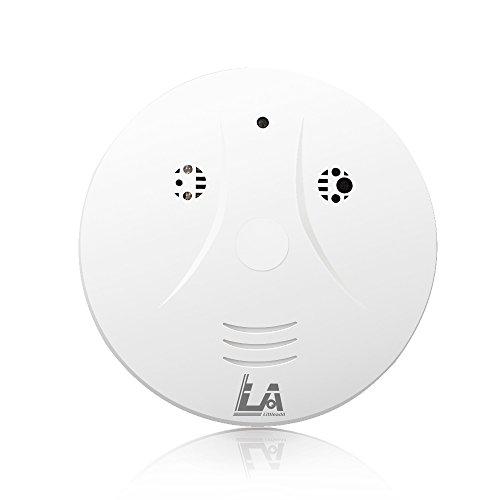 Littleadd Hidden Camera Smoke Detector, Motion Detection and Remote Control, Skin White by Littleadd