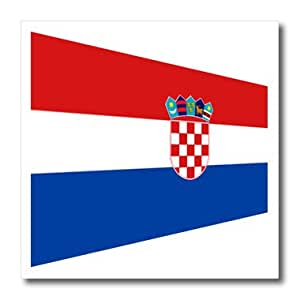 ht_174650_1 Florene - Flags Of World Unique - image of contemporary flag of croatia - Iron on Heat Transfers - 8x8 Iron on Heat Transfer for White Material