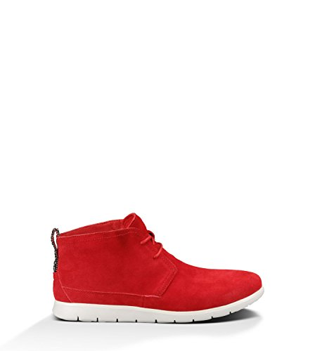 UGG Australia Mens Freamon Suede Boot Red Size 11