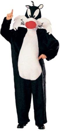 Std Size Adult (36-42 Jacket) Adult Warner Bros. TM Adult Sylvester (Sylvester Costume)