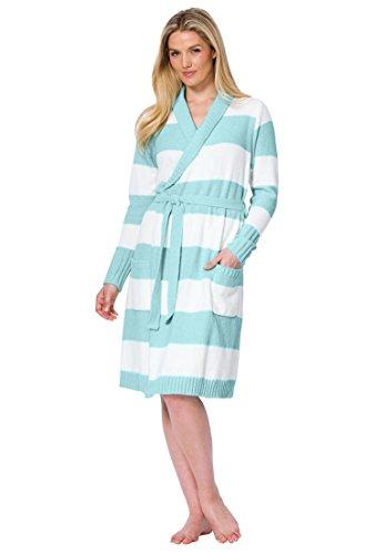 Plus Size Stretch Robe - 2