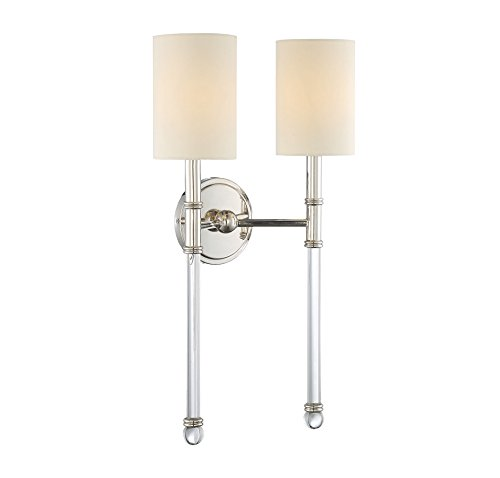 Savoy House Nickel Sconce - 5