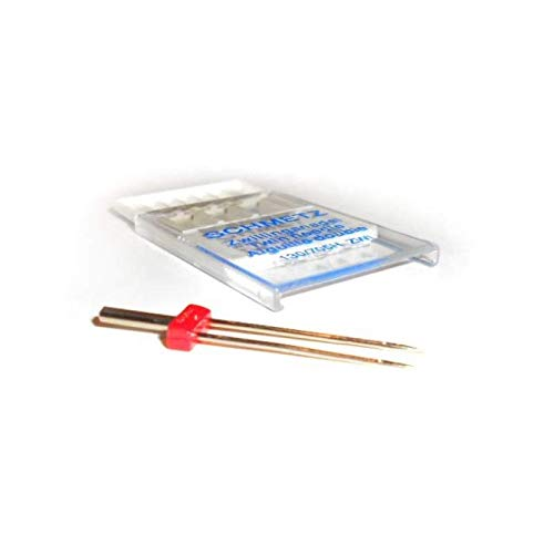 + Threader Single Packet Pack of 10 Agujas para m/áquina de coser BallPoint Asst 70-90 enhebrador de agujas Schmetz