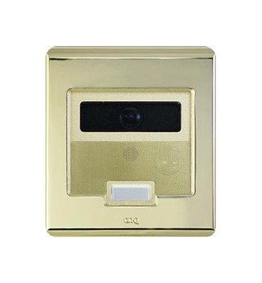 ON-Q Selective Call Intercom - Outdoor Station Selective Call Video Door Unit Shiny Brass (IC5003-SB)