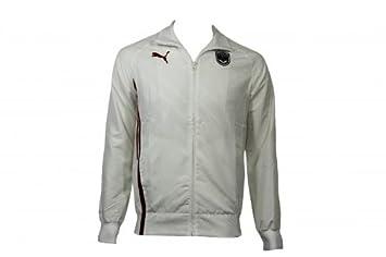 Puma FCGB Walkout Jacket Blanco Chaqueta Girondins de Burdeos de fútbol Blanco blanco Talla:small: Amazon.es: Deportes y aire libre