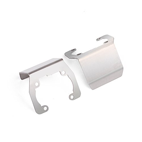 Stainless Steel Axle - INJORA 2PCS Stainless Steel Axle Protective Guard Plate for 1/10 RC Crawler Axial SCX10 II 90046 90047 90059 90060