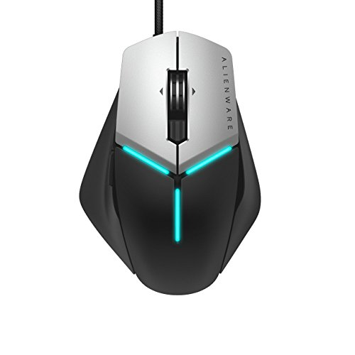 Alienware Elite Gaming Mouse AW958 – 12, 000 DPI – 5 On-The-Fly DPI Settings – 13 Programmable buttons Renewed
