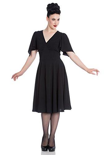 Carolina Black Black Bunny Hell 4754 Dress Kleid Ew7YxqB