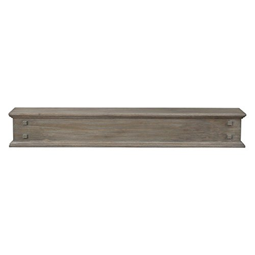 Pearl Mantels 429-60-21 Jackson 2-Drawer Storage Shelf, 60-Inch, Outer Banks ()