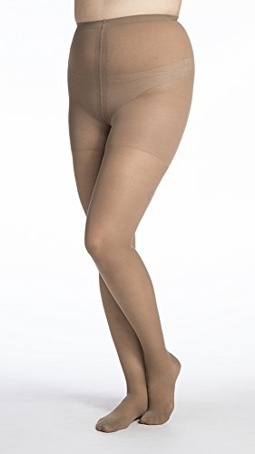 SIGVARIS Women's EVERSHEER 780 Closed Toe Compression Pantyhose 30-40mmHg by SIGVARIS
