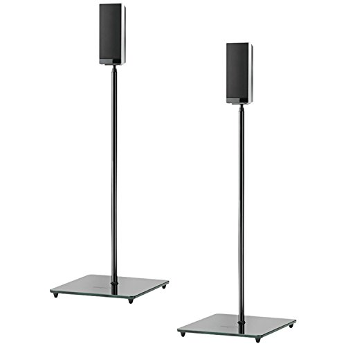 OmniMount ELO Speaker Stand, High Gloss Black by OmniMount