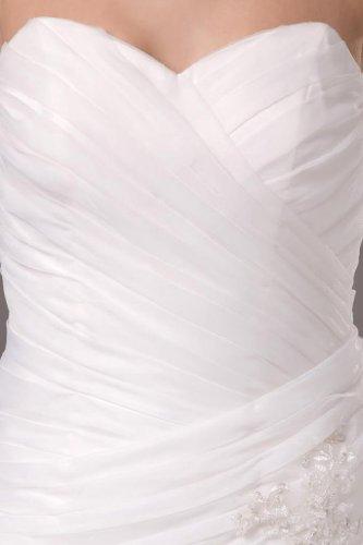 Sirène Des Femmes Dearta / Trompette Train Tribunal Amie Robes De Mariée En Organza Ivoire De