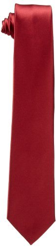 Dockers Neckwear Men's Big Boys' Solid Tie,Red,One Size (Tie Boys Red)