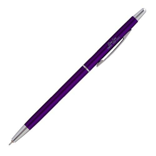 OHTO Needle Point Ballpoint Pen Slim Line 0.3mm Ballpoint Purple Body (NBP-5A3-Purple)