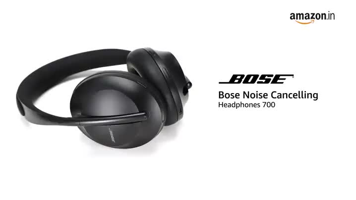31d6lHtqQfL Bose Noise Cancelling Wireless Bluetooth Headphones 700, with Alexa Voice Control, Black
