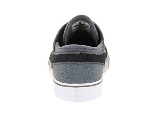 Nike Mens Zoom Stefan Janoski Cnvs Dark Grey/Barely Volt Black Skate Shoe 9 Men US