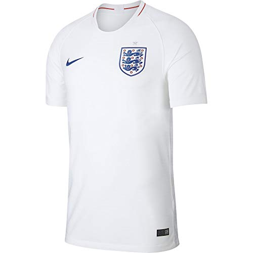 - NIKE 2018-2019 England Home Football Soccer T-Shirt Jersey