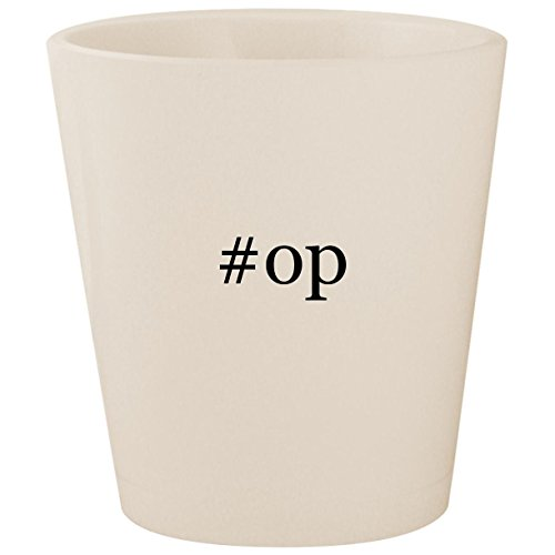 #op - White Hashtag Ceramic 1.5oz Shot - 360 Controller Xbox Modded Aimbot